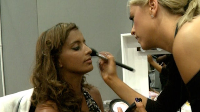 MOBO Awards 2010: Max in make-up