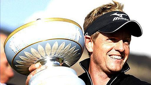 luke donald golf. Luke Donald says
