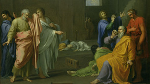 The death of Socrates,