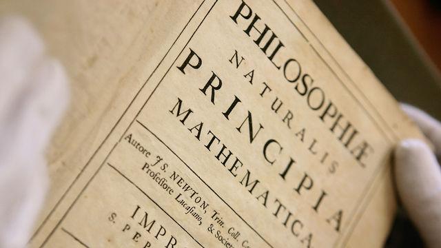 Isaac Newton's Principia Mathematica