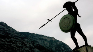 Statue of King Leonidas of Sparta,