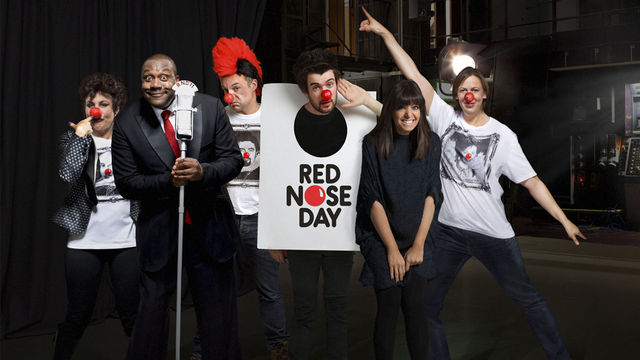 james corden comic relief 2011. James Corden, John Bishop,