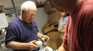 Food pantries in a Pennsylvania suburb see an increase in families who still can't make ends meet despite having jobs.
