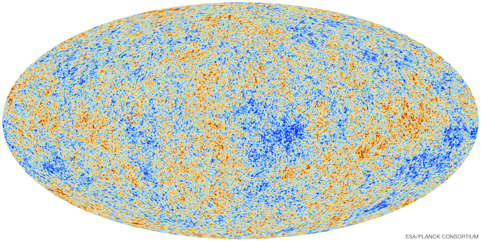 Map of the oldest light in the Universe.