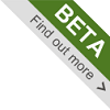BBC beta product banner
