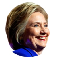 Headshot of Hillary Clinton