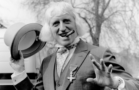 Savile after his investiture in 1972