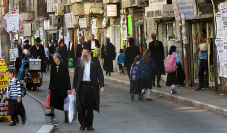 Ultra-Orthodox Jews in Meah Shearim
