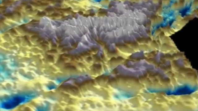Expanding ice sheet animation