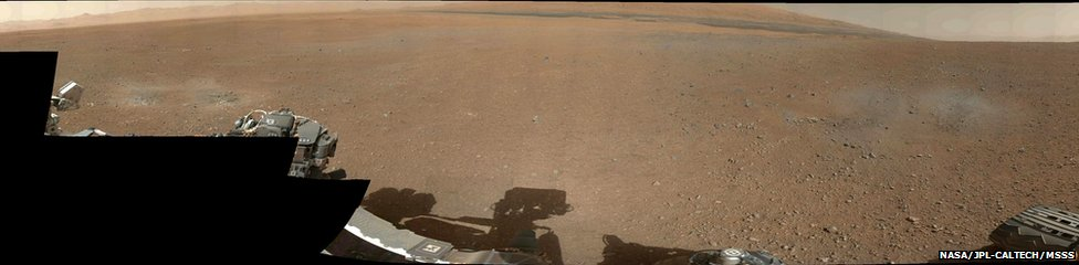 mars surface curiosity panorama - photo #38