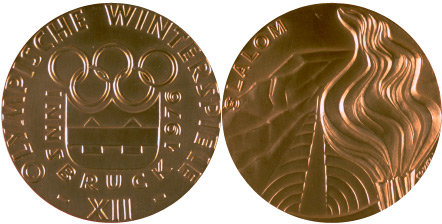 1976 olympic medal. Image courtesy of IOC