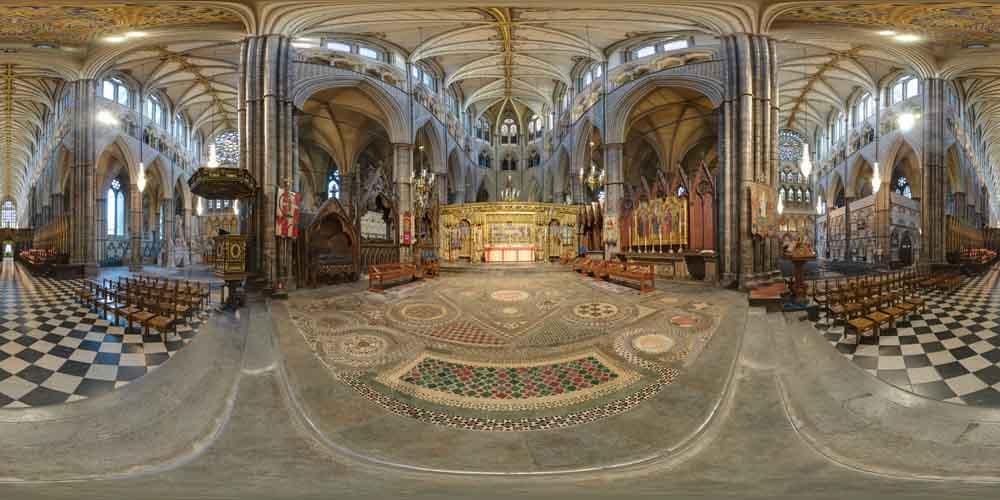 Bbc News Royal Wedding Westminster Abbey 360 Tour