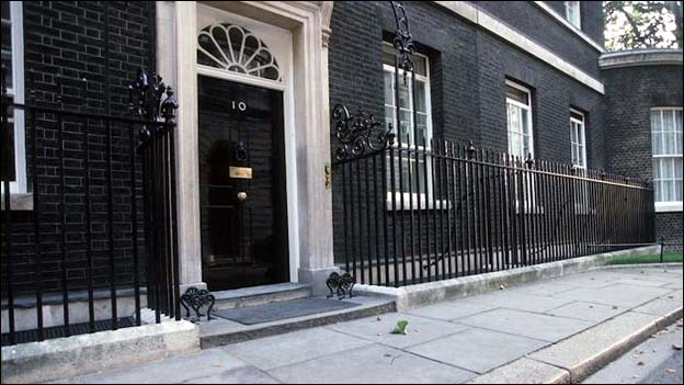 Downing Street,  London, England