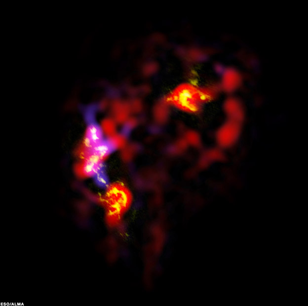 alma images 624 1 - Alma  telescope begins study of cosmic down
