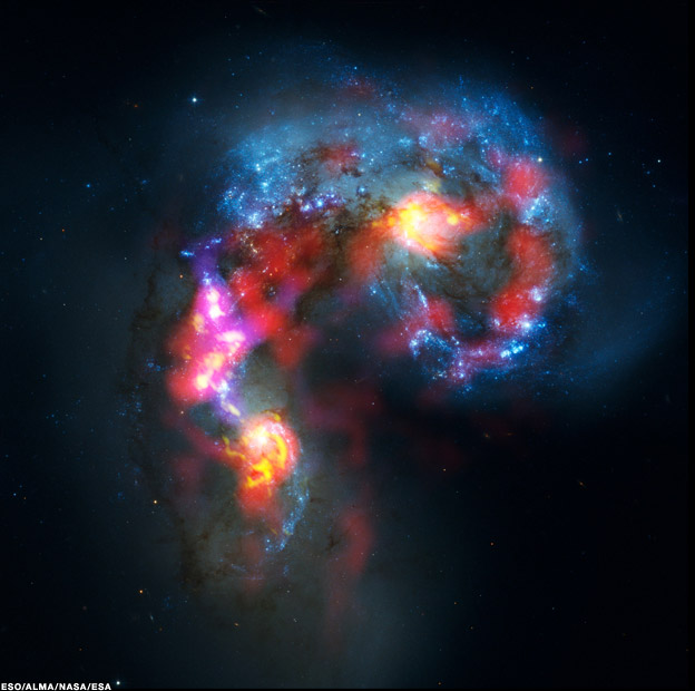 alma images 624 2 - Alma  telescope begins study of cosmic down