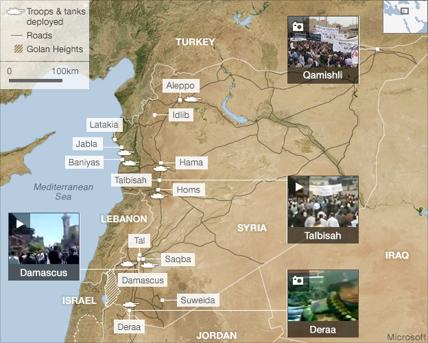 Syria Map World. world-middle-east-13304000