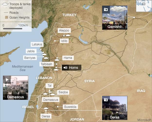 Syria Unrest: 'New Violence' Near Homs Amid Talks Call