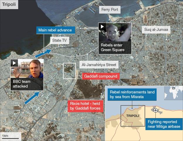 Map: Tripoli