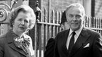 Prime Minister Margaret Thatcher and US Secretary of State Alexander Haig