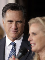 Mitt and Ann Romney