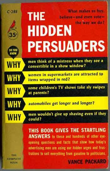 The Hidden Persuaders (front)