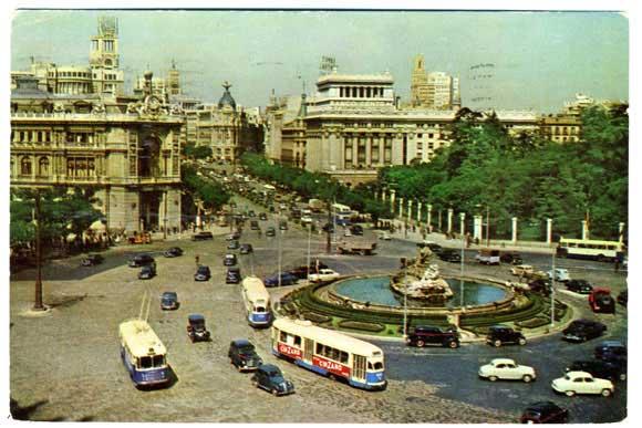 pentathol postcard, Spain