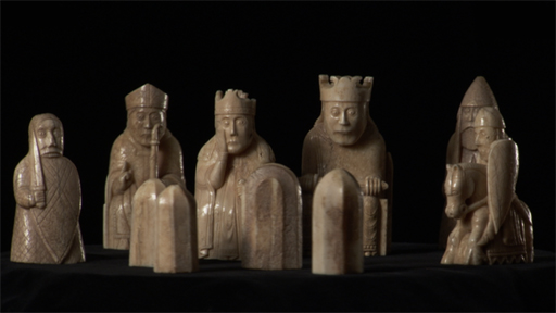 Bbc a history of the world object lewis chessmen - Lewis chessmen set ...