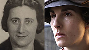 Edith Frank and Tamsin Greig