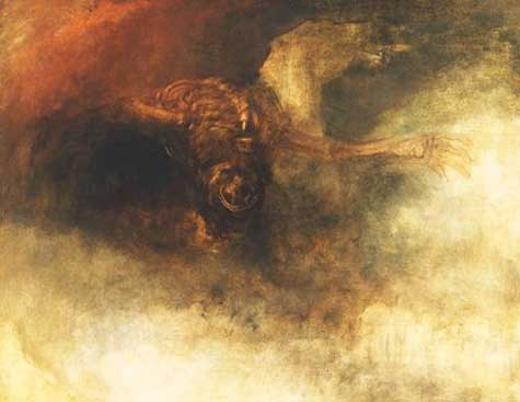 Death on a Pale Horse by J.M.W. Turner