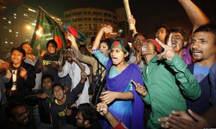 Protestors, Bangladesh