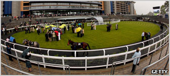 The Parade Ring at Ascot