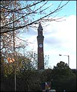 Birmingham University Clock Tower - Inspiration for the towers in The Lord Of The Rings: The Two Towers