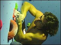 GB climber Mark Croxall
