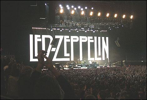 Led Zeppelin Live 2007 i Saw Led Zeppelin Live