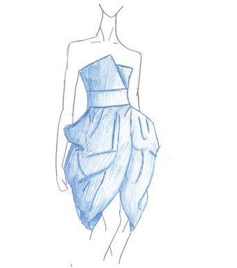 easy fashion design sketches - photo #42