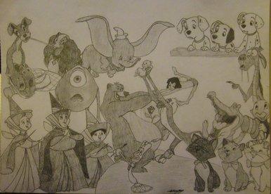 BBC Blast Art amp Design Disney Collage