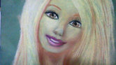 By.  Barbie doll sketch.  Emily.