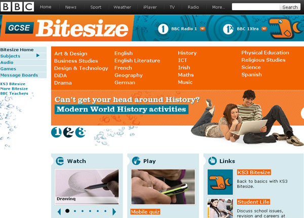 BBC - About the BBC: Bitesize and GCSE results