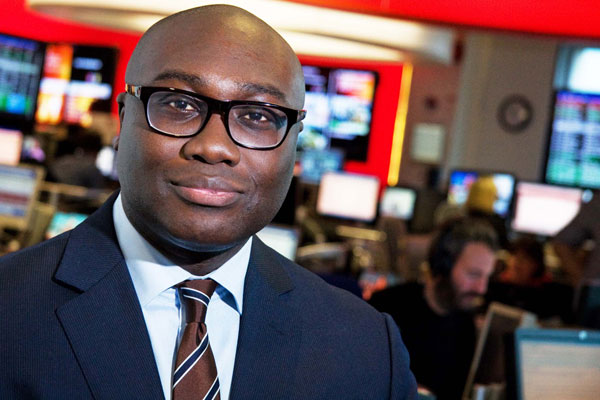Komla Dumor, one of the presenters on Focus On Africa