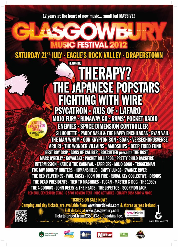 Glasgowbury 2012 poster