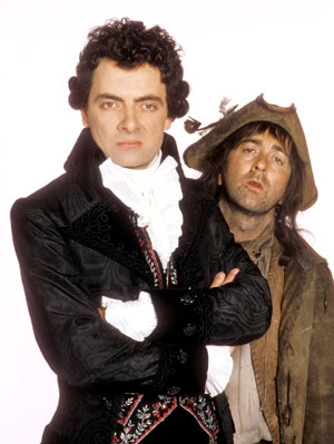 Baldrick and Blackadder