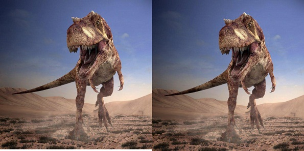 Killer Dinosaurs side by side image