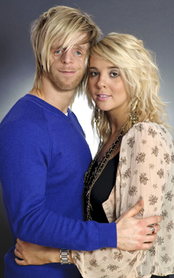 So What if My Baby is Born Like Me? (Jono Lancaster and his girlfriend Laura)