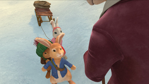 Peter Rabbit, Benjamin and Lily