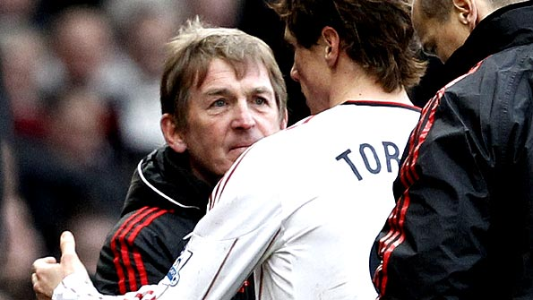Kenny Dalglish and Fernando Torres