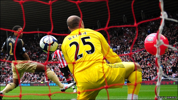 Pepe Reina and the beach ball