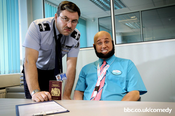 David Walliams as Ian and Matt Lucas as Taaj
