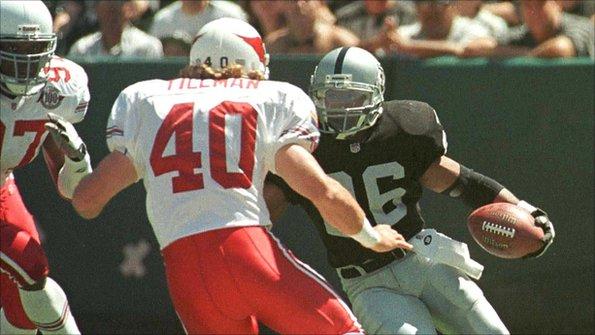 Pat Tillman, former NFL player