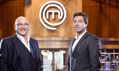 Gregg Wallace and John Torode from MasterChef.