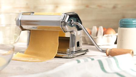 A pasta machine
